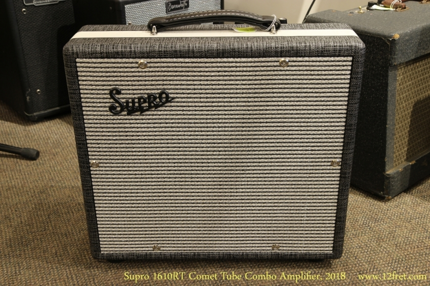 Supro 1610RT Comet Tube Combo Amplifier, 2018 Full Front View