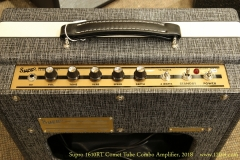 Supro 1610RT Comet Tube Combo Amplifier, 2018   Controls View