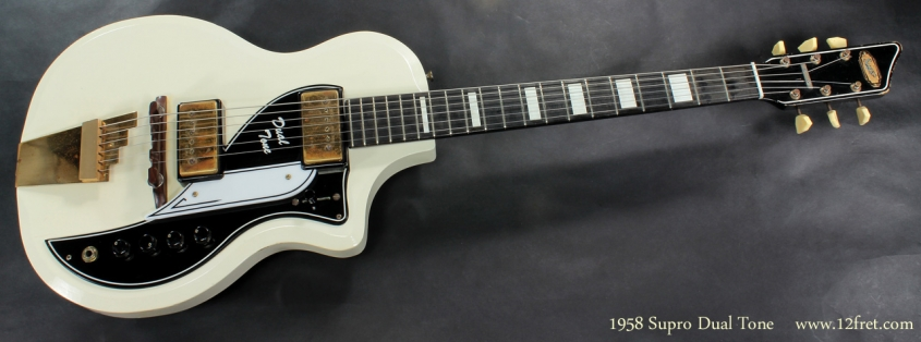 Supro Dual Tone 1958 full front view