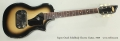 Supro Ozark Solidbody Electric Guitar, 1959 Full Front View