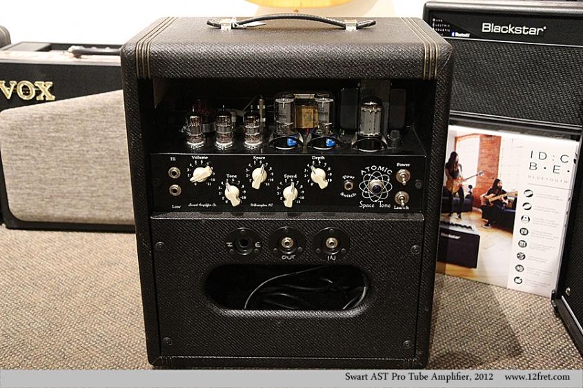 Swart AST Pro Tube Amplifier, 2012  Full Rear View