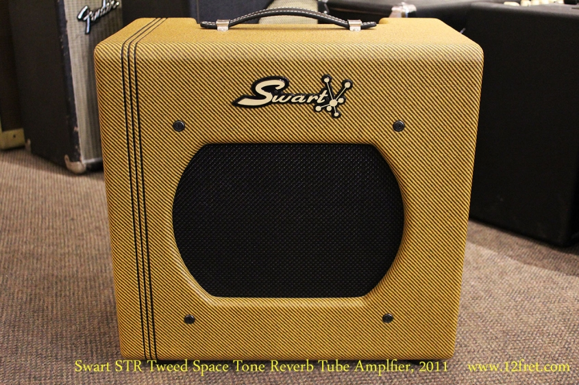 Swart STR Tweed Space Tone Reverb Tube Amplfier, 2011 Full Front View