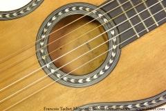 Francois Tachet Mirecourt School Guitar, 1830s Rosette