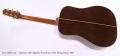 Takamine 45th Sapphire Anniversary Steel String Guitar, 2007 Full Rear View