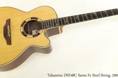 Takamine DSF48C Santa Fe Steel String, 2002 Full Front View