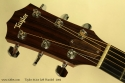 Taylor 312ce Left Handed, 2005 head front view