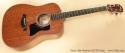 Taylor 320e Baritone SLTD guitar full front view