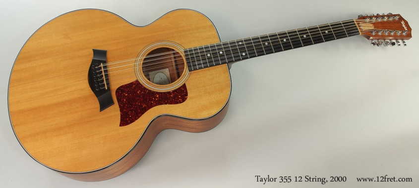 Taylor 355 12 String, 2000 Full Front View