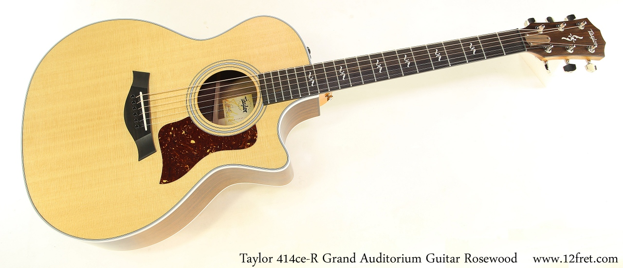 Taylor 414ce R Grand Auditorium Guitar Rosewood Full Front View