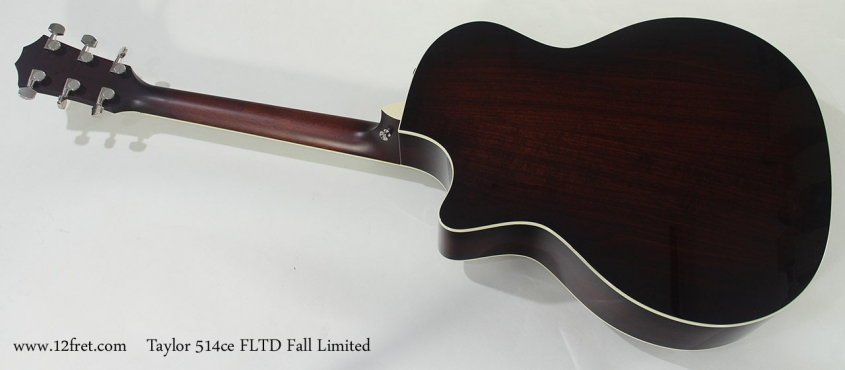 Taylor 514ce FLTD Fall Limited full rear view