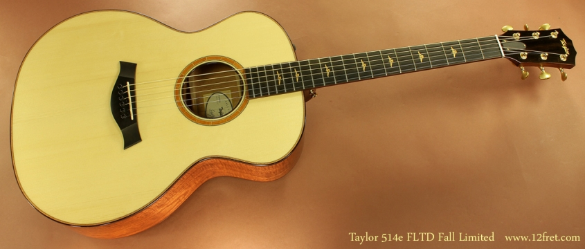 Taylor 514e FLTD Fall Limited full front view