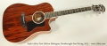 Taylor 520ce First Edition Mahogany Dreadnought Steel String, 2013 Full Front View