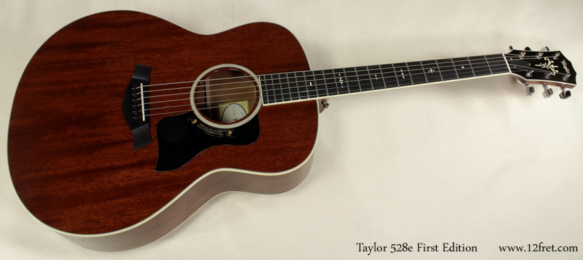 Taylor 528e First Edition full front view