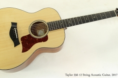 Taylor 556 12 String Acoustic Guitar, 2017 Full Front View