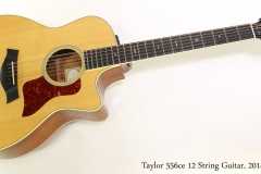 Taylor 556ce 12 String Guitar, 2014 Full Front View