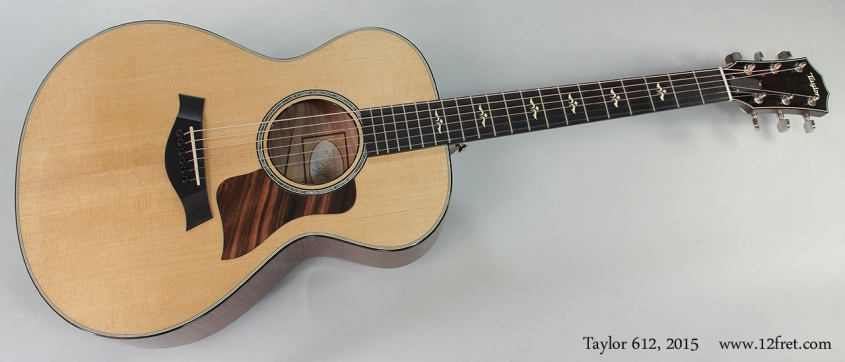Taylor 612, 2015 Full Front View