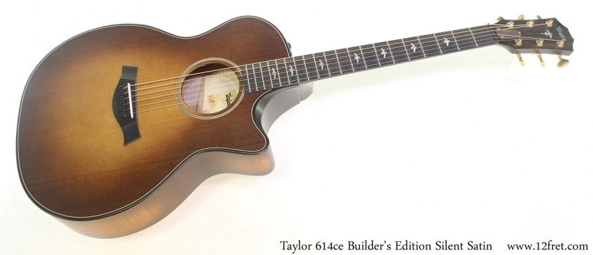 Taylor 614ce Builder's Edition Silent Satin Full Front View