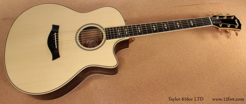 Taylor 616ce LTD full front view