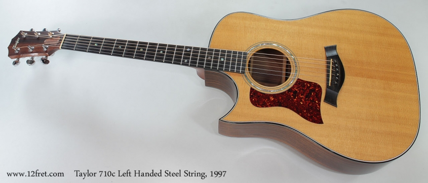 Taylor 710c Left Handed Steel String, 1997 Full Front View