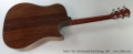 Taylor 710c Left Handed Steel String, 1997 Full Rear View