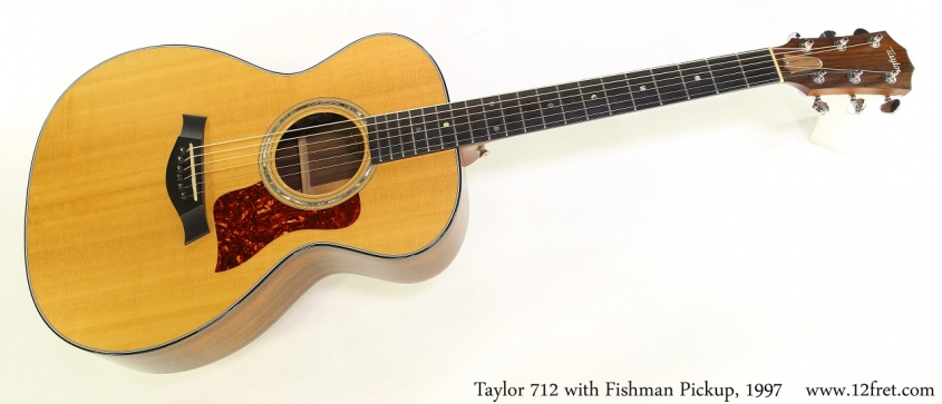 Taylor 712 with Fishman Pickup, 1997 Full Front View
