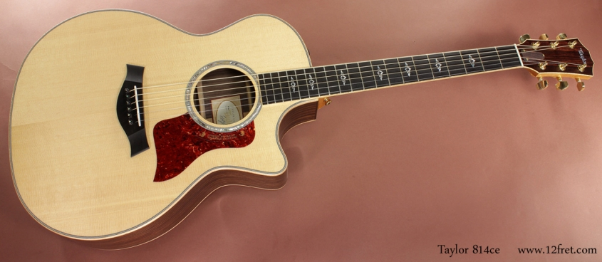 Taylor 814ce full front view