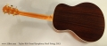 Taylor 816 Grand Symphony Steel String, 2013 Full Rear View