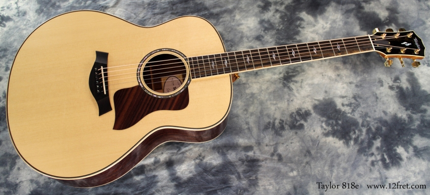 Taylor 818e full front
