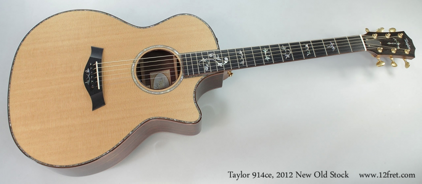 Taylor 914ce, 2012 New Old Stock Full Front View