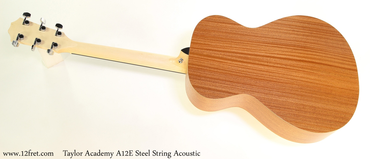 Taylor Academy A12E Steel String Acoustic Full Rear View