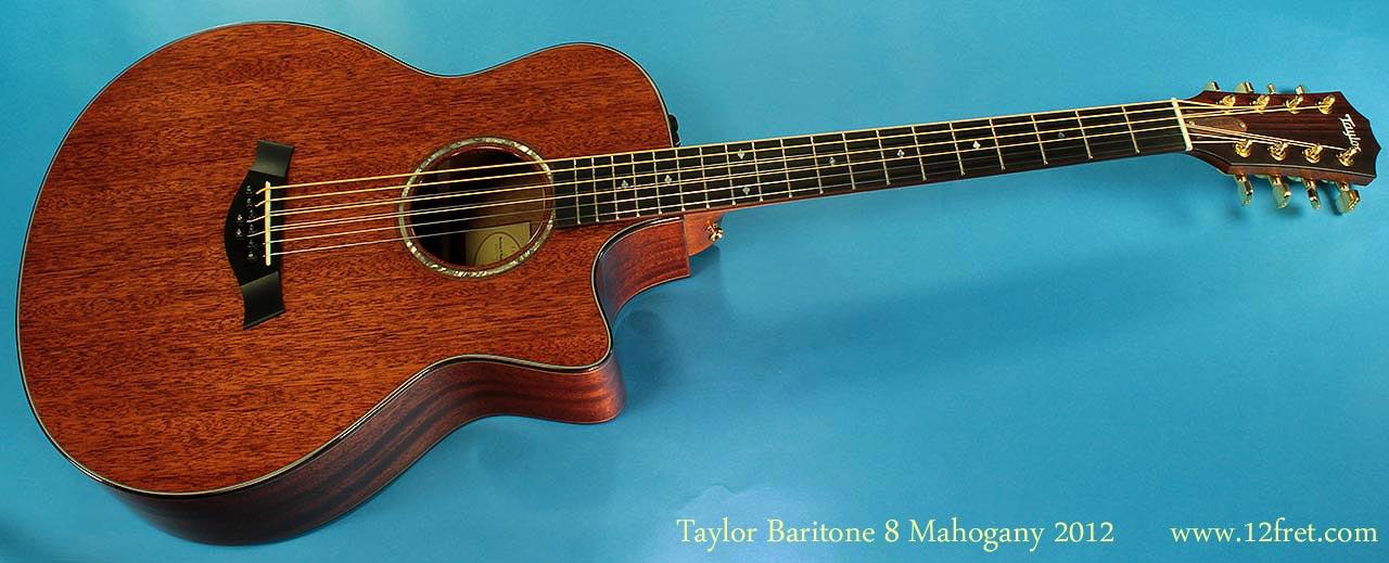taylor baritone 8 string mahogany. Black Bedroom Furniture Sets. Home Design Ideas