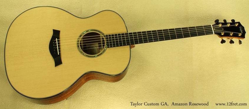 taylor custom ga amazon rosewood full front