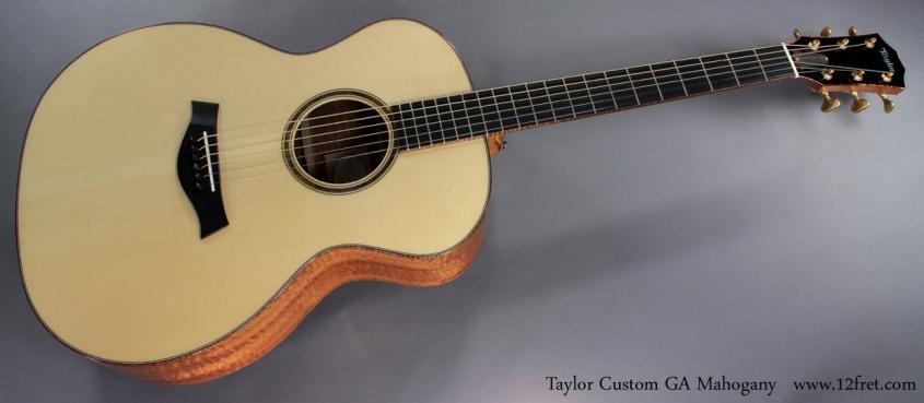 Taylor Custom GA Mahogany full front view