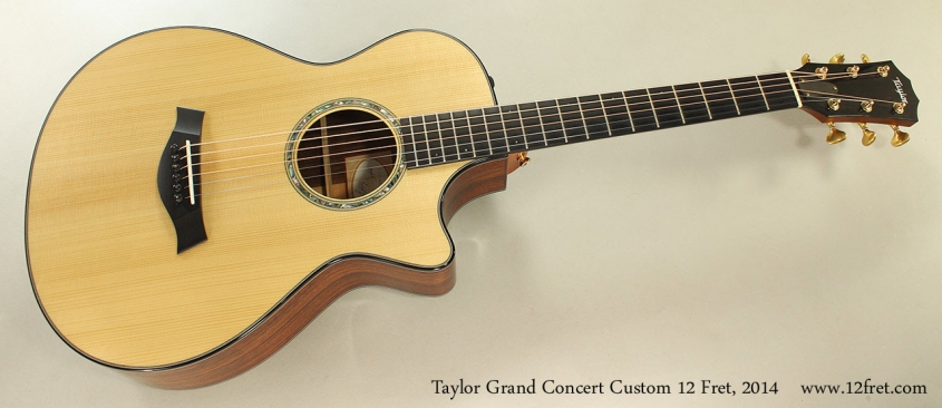 Taylor Grand Concert Custom 12 Fret, 2014 Full Front View
