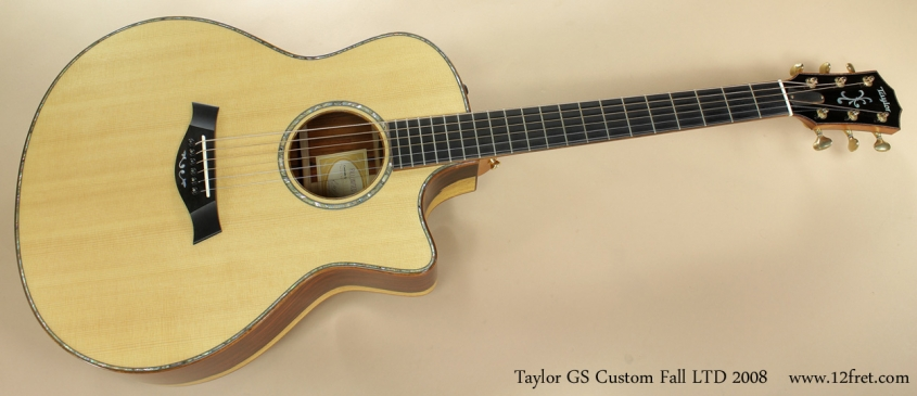 Taylor GS Custom Fall LTD 2008 full front view