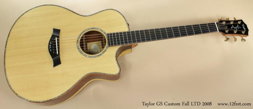 Taylor GS Custom Fall LTD 2008 full front view