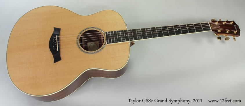 Taylor GS8e Grand Symphony, 2011 Full Front View