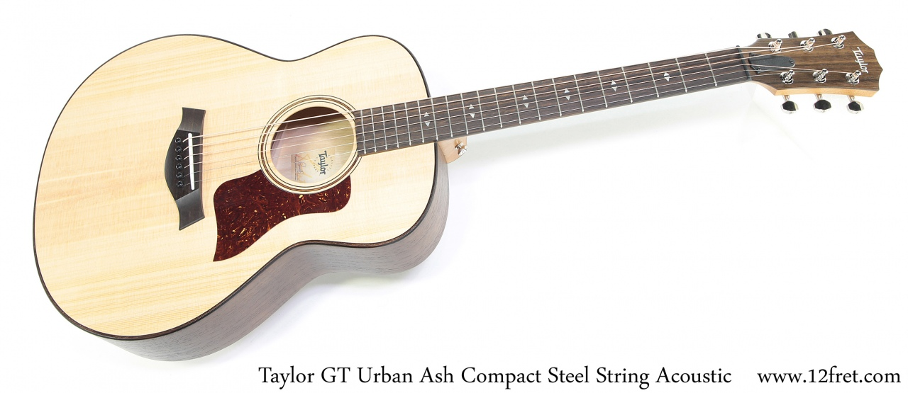Taylor GT Urban Ash Compact Steel String Acoustic Full Front View