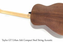 Taylor GT Urban Ash Compact Steel String Acoustic Full Rear View