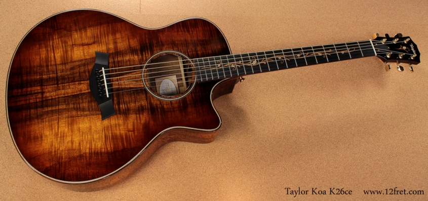 Taylor K26ce full front view