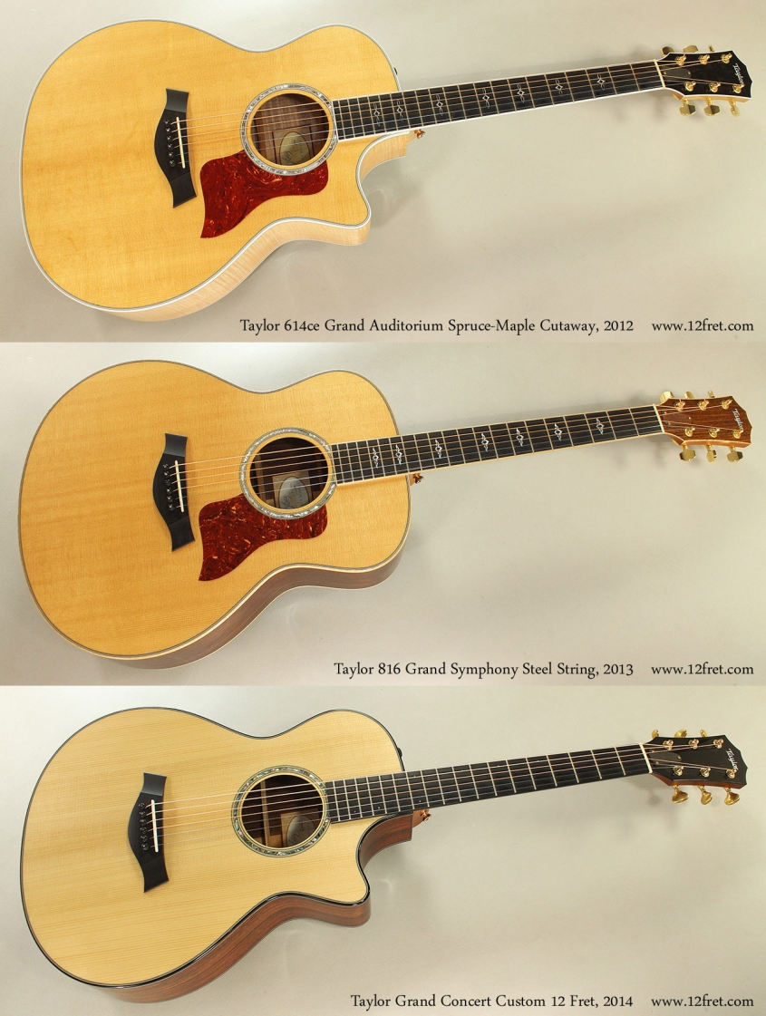 Taylor New Old Stock Grouping