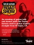 Taylor Guitars Roadshow October 26 2016 Poster