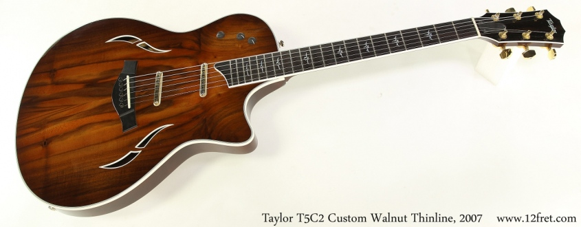 Taylor T5C2 Custom Walnut Thinline, 2007 Full Front View