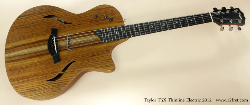 Taylor Tx5 Thinline Electric 2012 full front view
