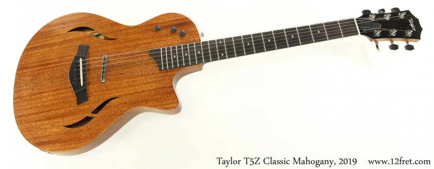 Taylor T5Z Classic Mahogany, 2019 Full Front View