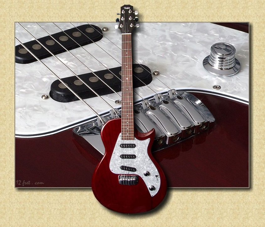 Taylor_Classic_Single_Coil_red_guitar