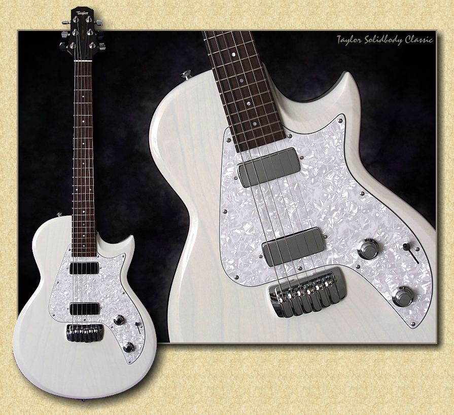 taylor single coil classic electric guitar