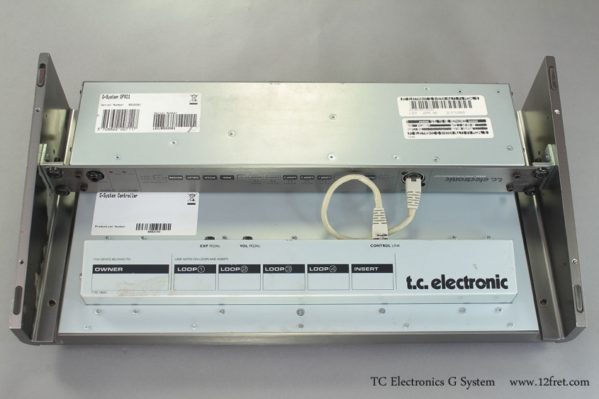 TC Electronics G System bottom view