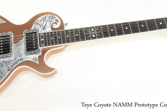 Teye Coyote NAMM Prototype Copper, 2014   Full Front View