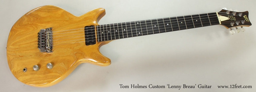 Tom Holmes Custom 'Lenny Breau' Guitar Full Front View